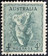 Koala Stamp